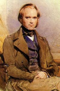 Photograph of Charles Darwin at age 31