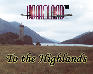 Trip Report - To the Highlands