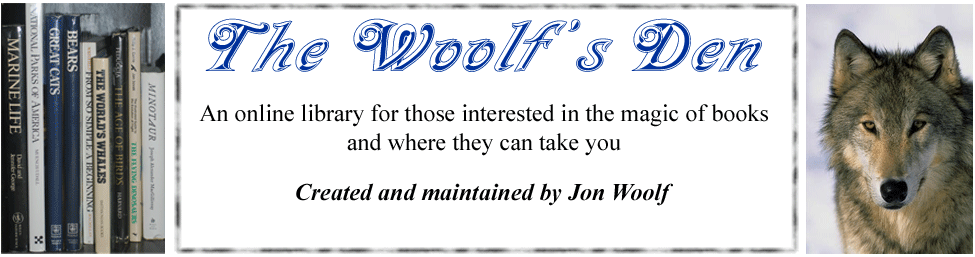 The Woolf's Den - graphic header
