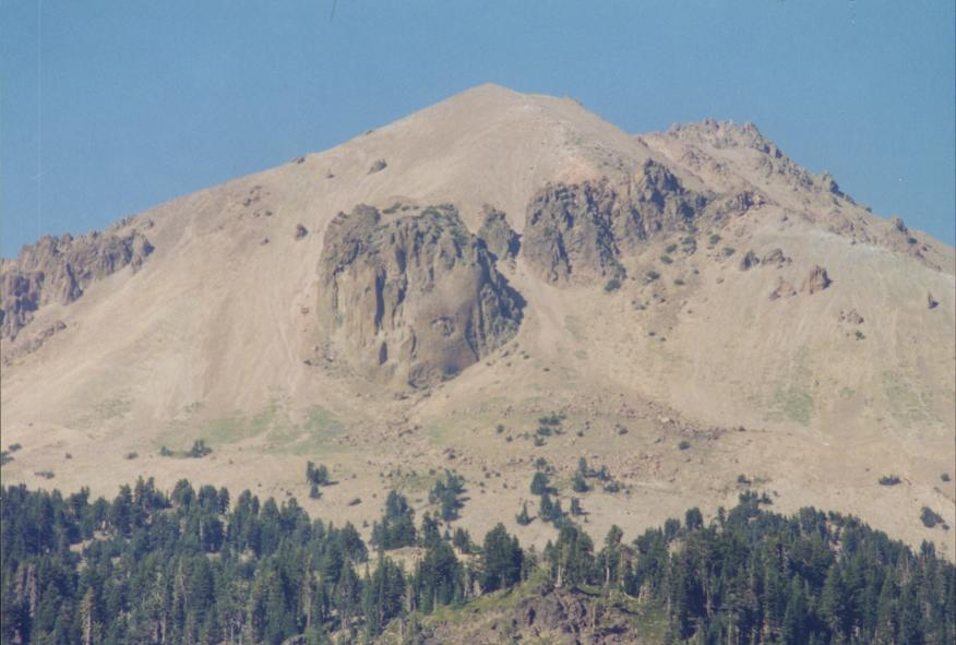 Lassen Peak and Vulcan's Eye