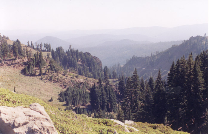 Vista from Bumpass Hell Trail