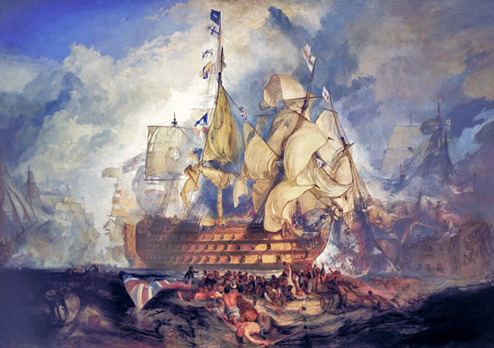 The Battle of Trafalgar (painting)